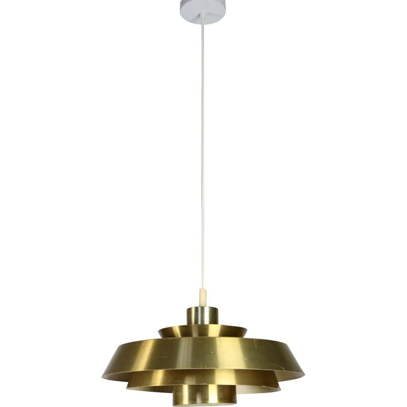 Mid-century Nova pendant lamp, Johannes Hammerborg for Fog and Mørup Danish 1960s
