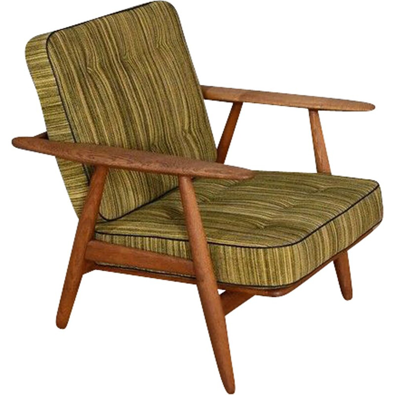 Vintage Cigar Chair Hans Wegner GE240 For Getama