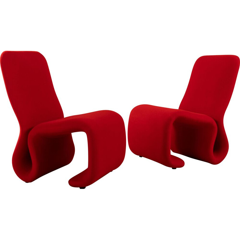 Pair of armchairs 'etcetera' by Jan Ekselius 1970