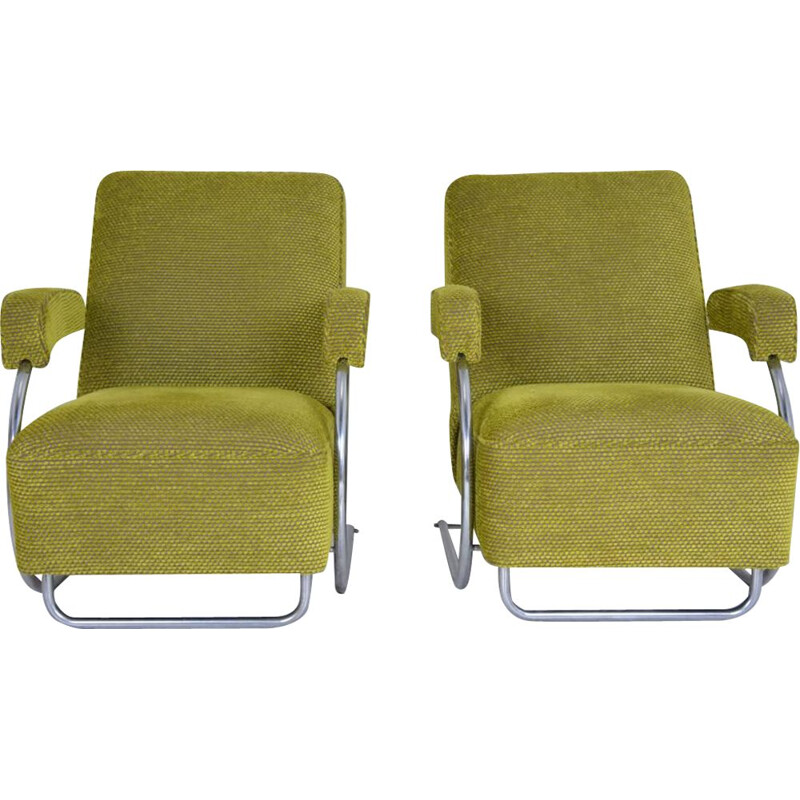 Pair of vintage armchairs 1950
