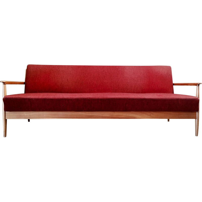 Vintage convertible sofa stamped Casala 1950
