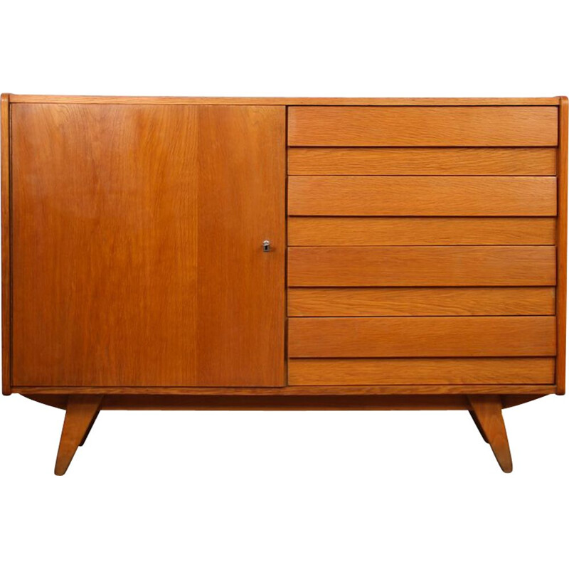 Vintage chest of drawers by Jiri Jiroutek for Interier Praha, model U-458, 1960