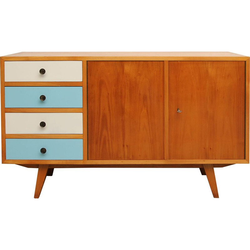 Little vintage sideboard in ash 1950s