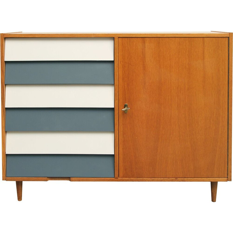Vintage sideboard in oak 1950s