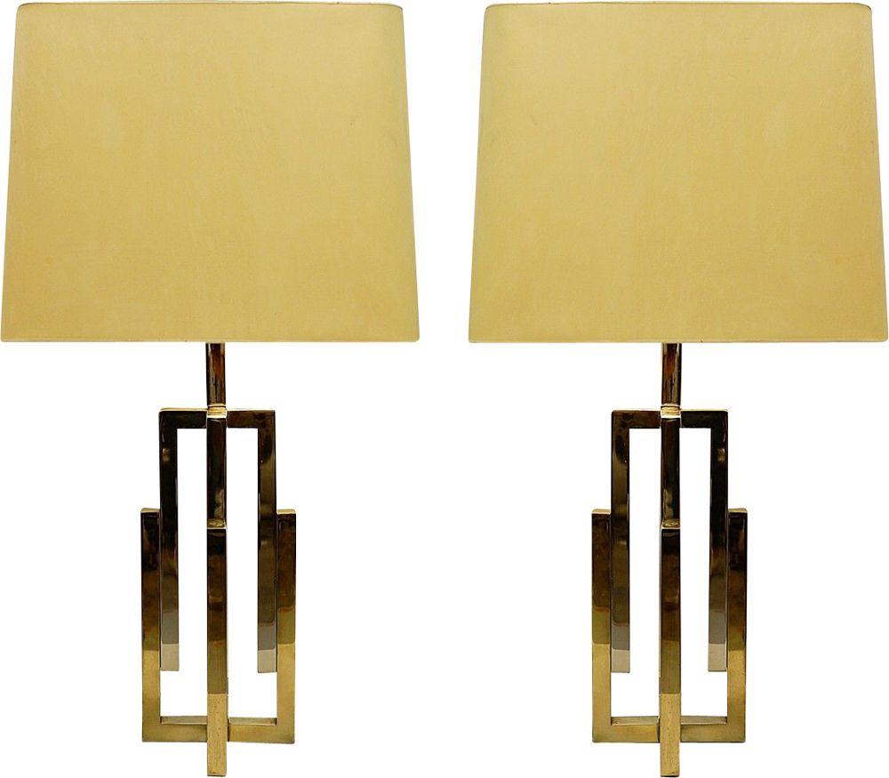 1960s Pair of Romeo Rega Table Lamps in