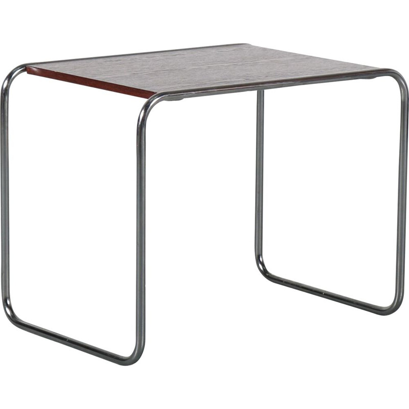 "Vintage Model ""B9"" side table by Marcel Breuer for Gavina, Italy 1970s"