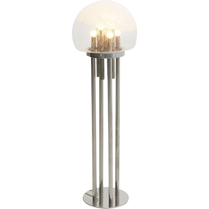 Vintage Floor Lamp with Murano Glass 1960s
