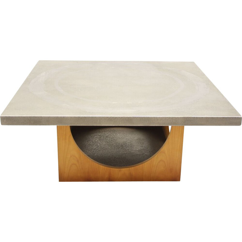 Vintage coffee table Heinz Lilienthal 1970s