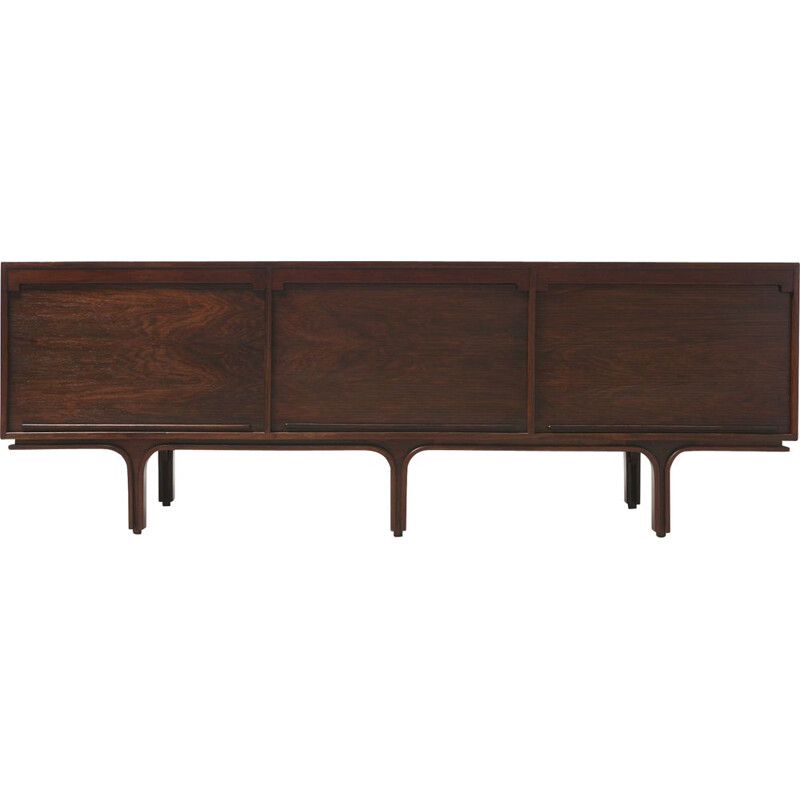 Vintage Sideboard in Rosewood by Gianfranco Frattini for Bernini, Italy 1957