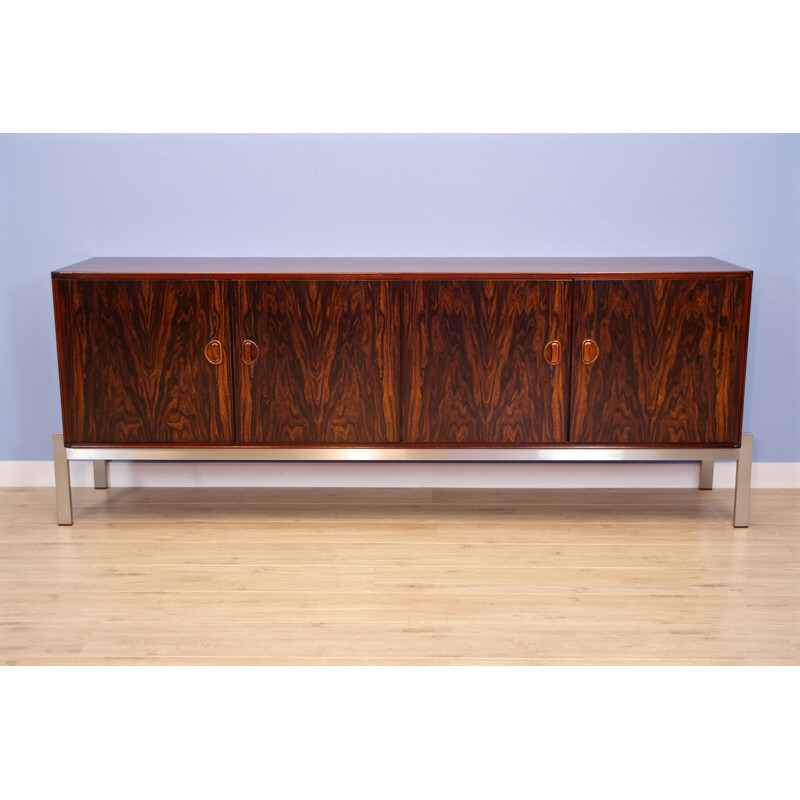 Vintage Dutch sideboard in rosewood by Kho Liang Ie for Frishto, 1960s
