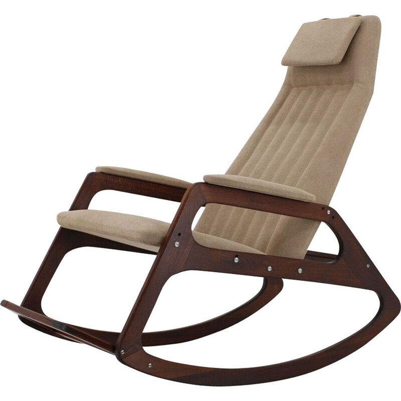 Mid-century rocking chair by ULUV, 1960's