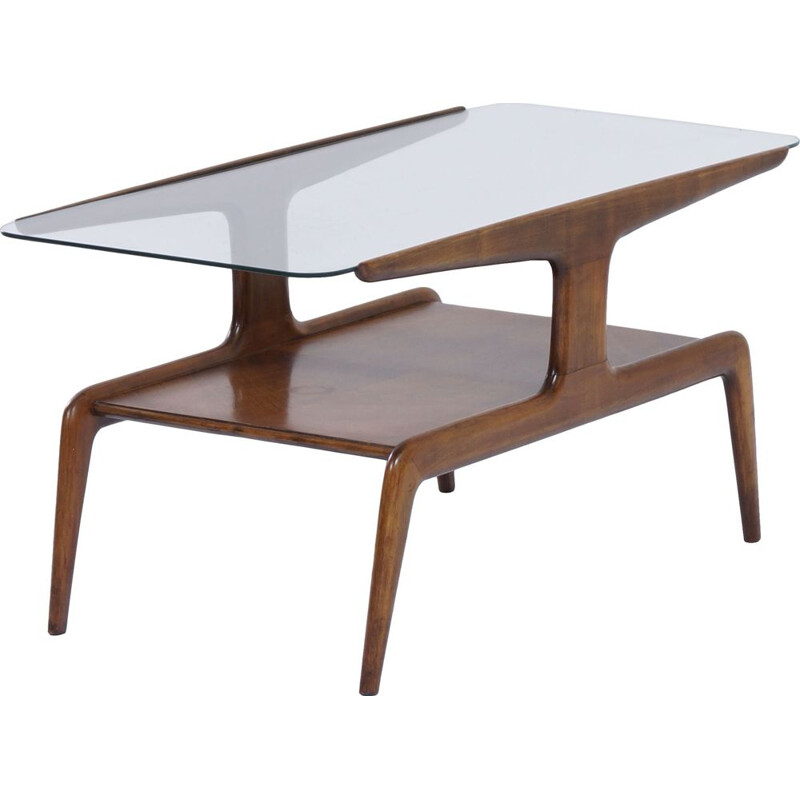 Vintage Coffee Table by Gio Ponti for Domus Nova, 1950s