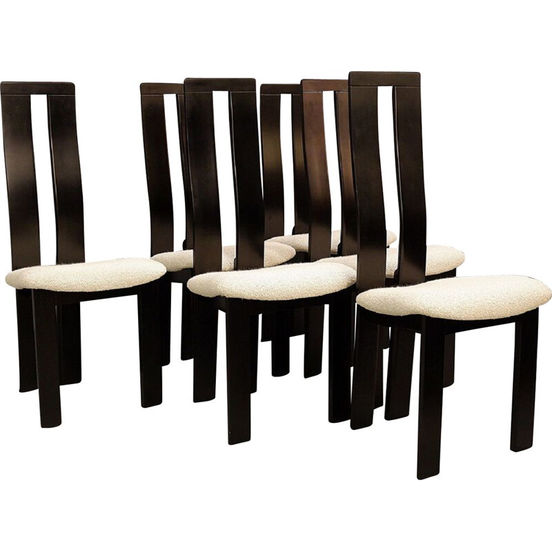Set of 6 Vintage Chairs by Pietro Costantini for Ello, 1970