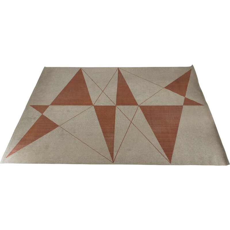 Vintage Geometric Carpet Superior by Slovena, 1960