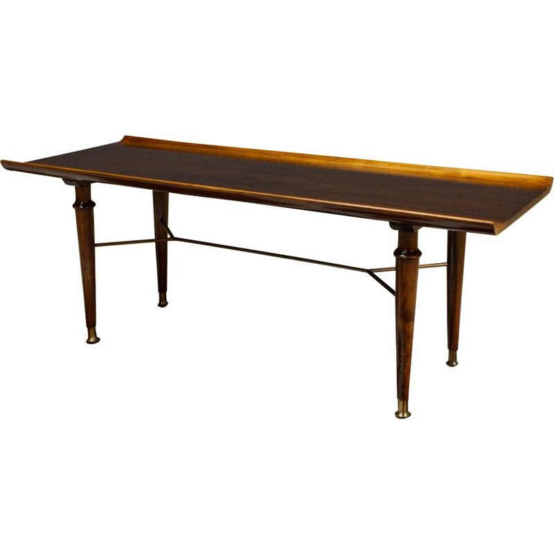 Vintage coffee table by Patijn Dutch Art Deco 1950