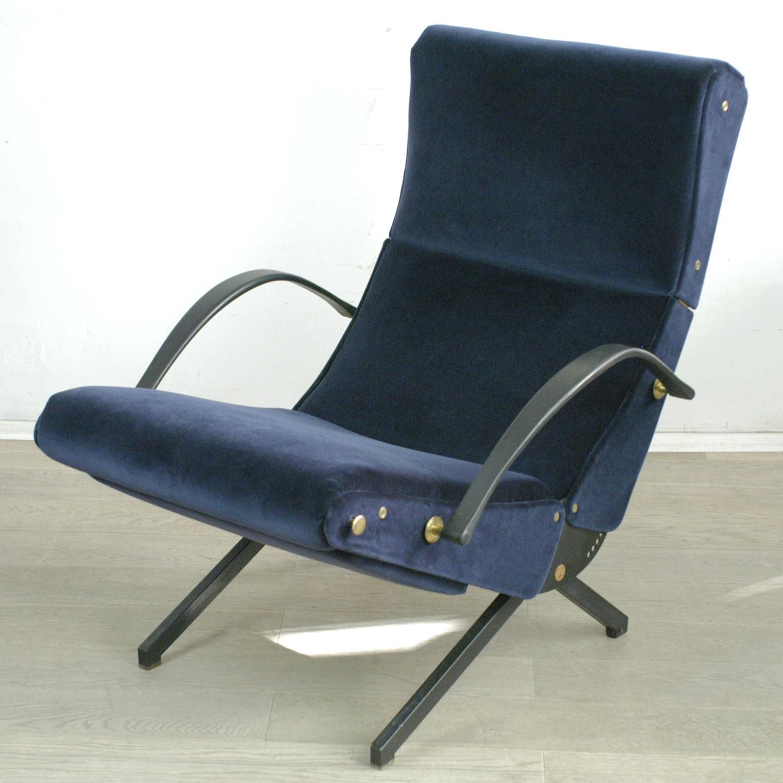 P40 Tecno Lounge Chair Osvaldo Borsani 1950s Design