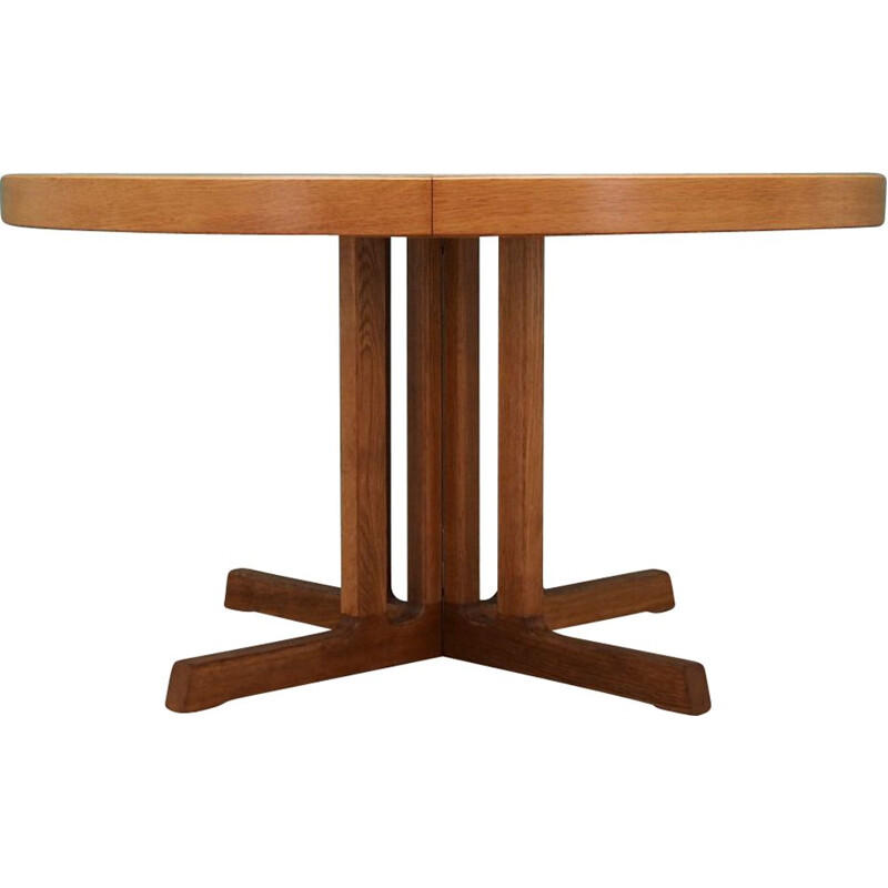 Vintage ash dining table by Johannes Andersen, 1960