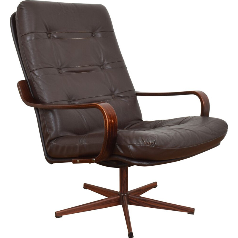 Mid-Century Office Chair, German 1970s
