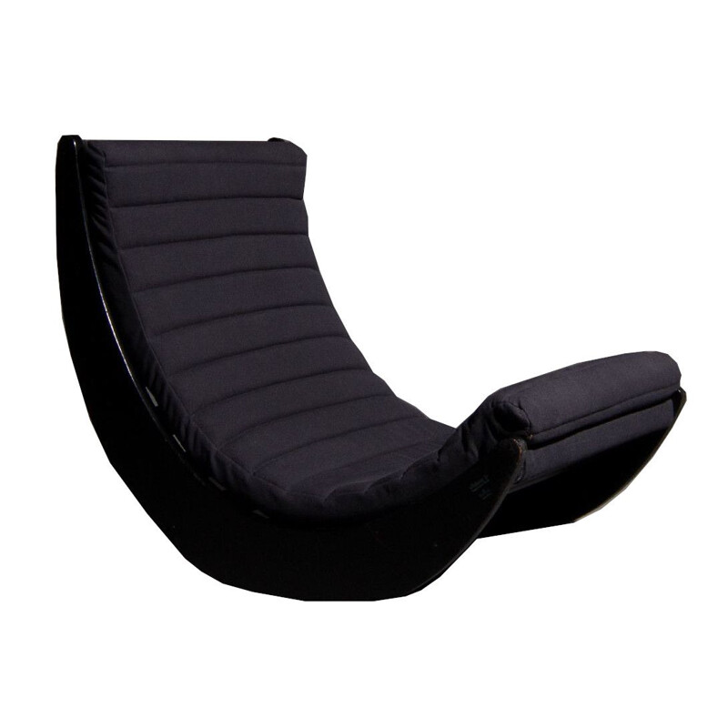 Verner Panton rocking chair produced by Rosenthal