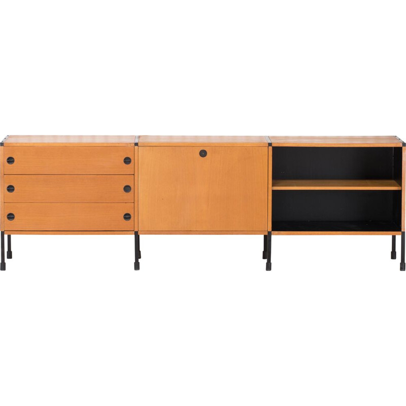 Large vintage Sideboard Designed By Pierre Guariche 1960