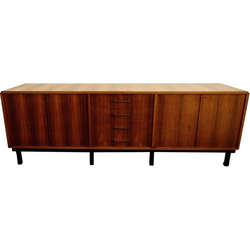 Vintage Gianfranco Frattini walnut sideboard