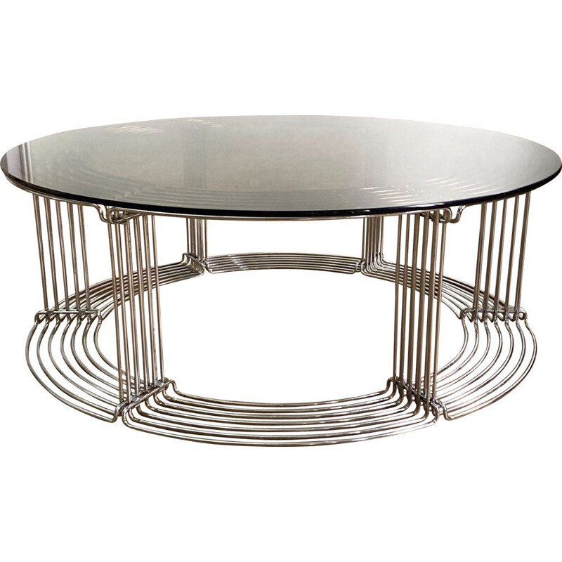 Vintage 'Pantonova' Coffee Table by Verner Panton for Fritz Hansen 1970