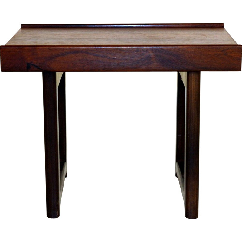 Vintage side table in rosewood by Torbjörn Afdal for the Norwegian manufacturer bRuksbo 1960