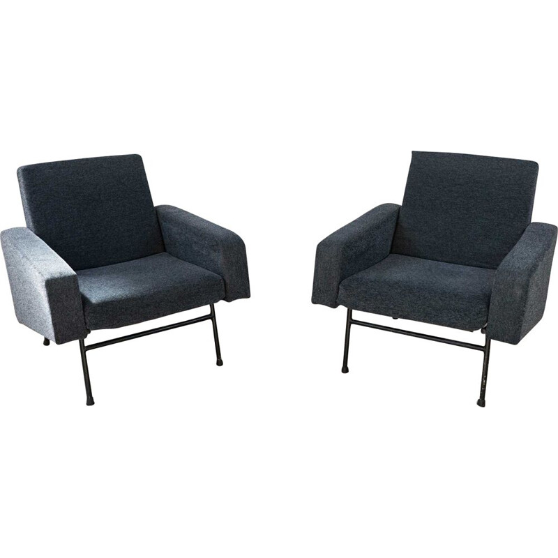 Pair of vintage G10 armchairs by Pierre Guariche poue Airborne, 1960