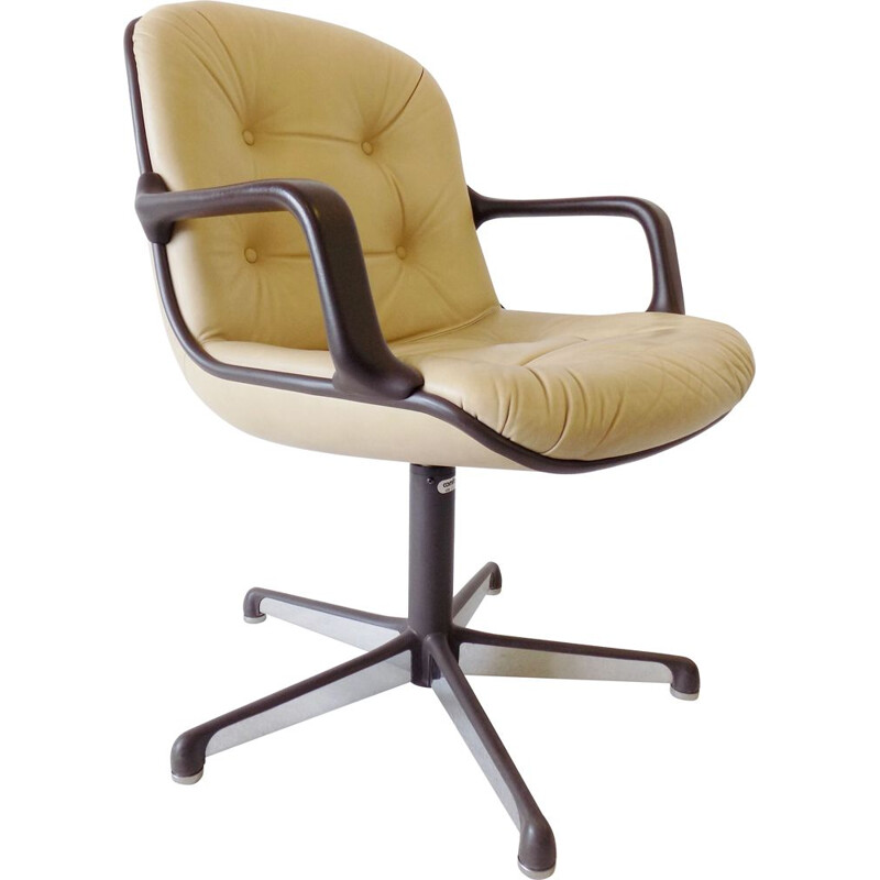 Vintage office chair Comforot Executive by Charles Pollock