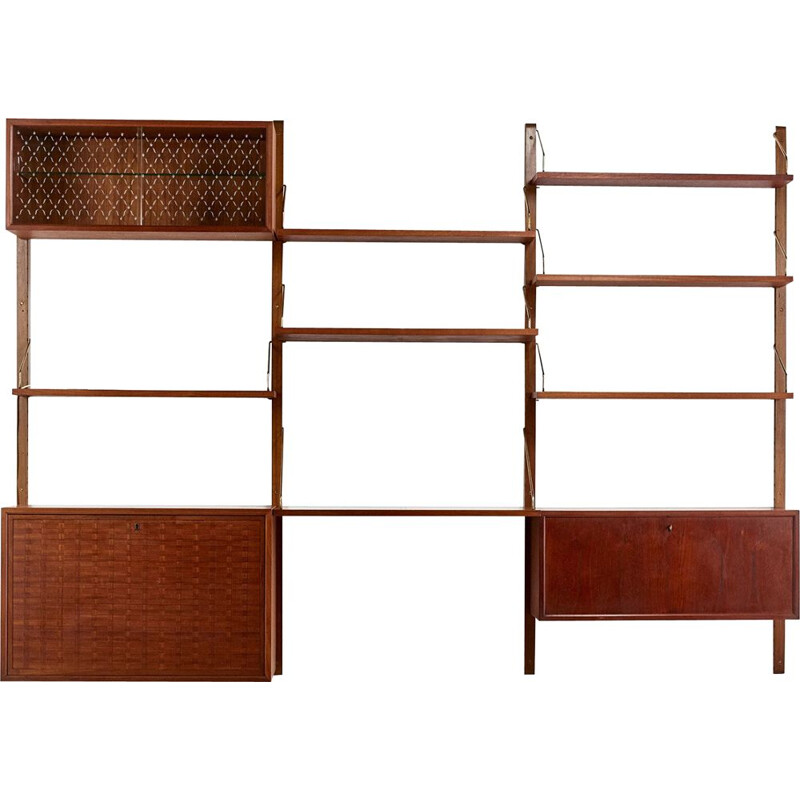 Vintage wall unit Poul Cadovius for Cado