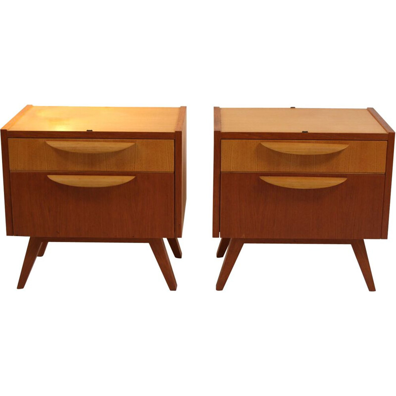 Pair of Vintage cupboards or side cabinets 1960