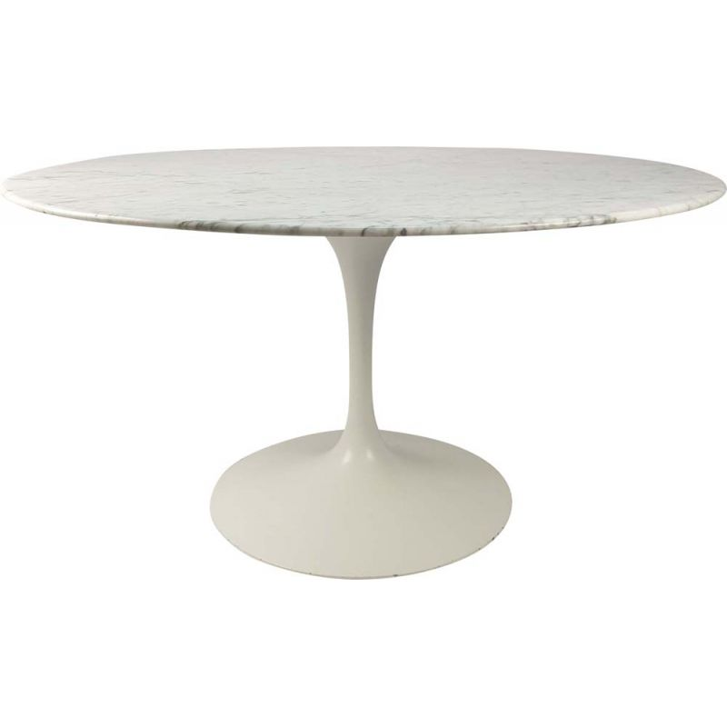 Vintage Marble Dining Table by Eero Saarinen for Knoll Inc.  Knoll International, 1970s