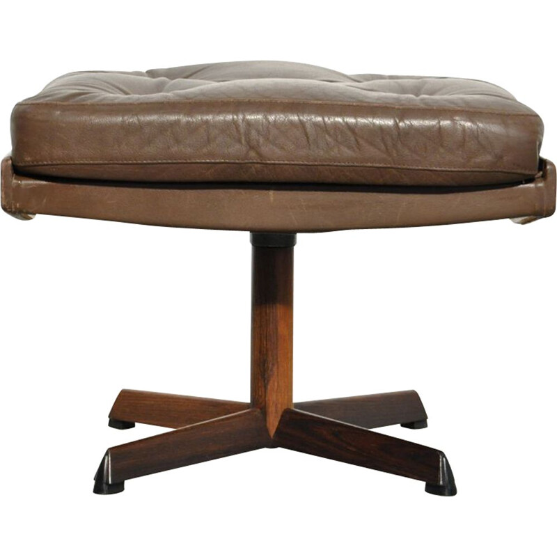 Footstool produced by Bovenkamp, Danish 1970s