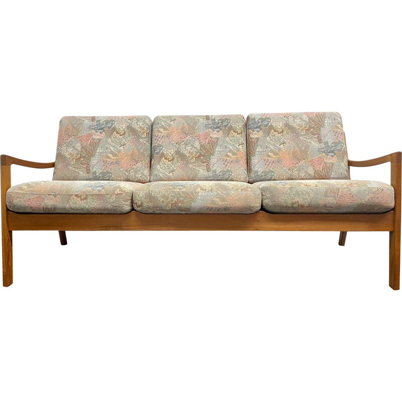 Vintage Sofa  Couch Senator Teak by Ole Wanscher for Cado, Denmark 1960s