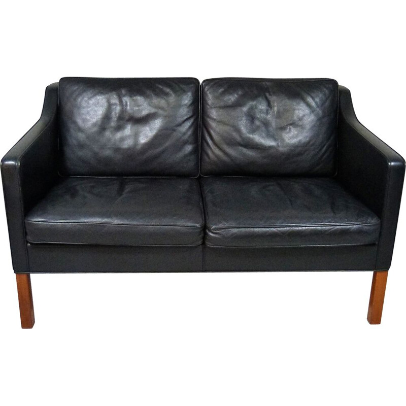 Vintage Twoseats sofa by Børge Mogensen for Fredericia, Denmark