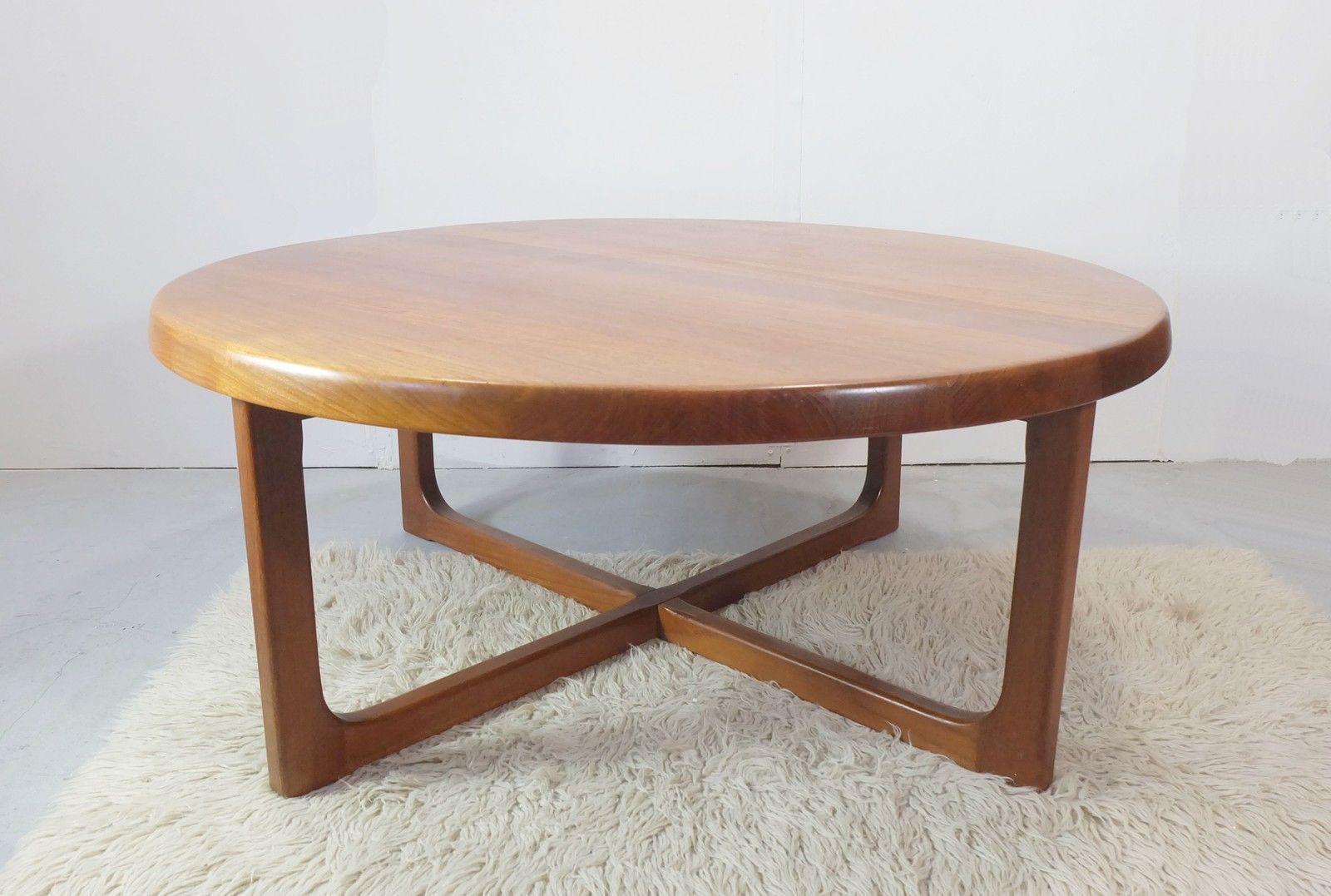 Scandinavian teak coffee table Niels BACH 1960s