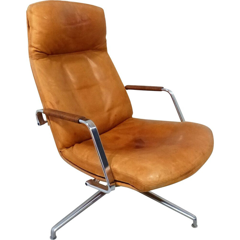 Vintage lounge chair FK 86 Fabricius Kastholm for Kill International, Germany