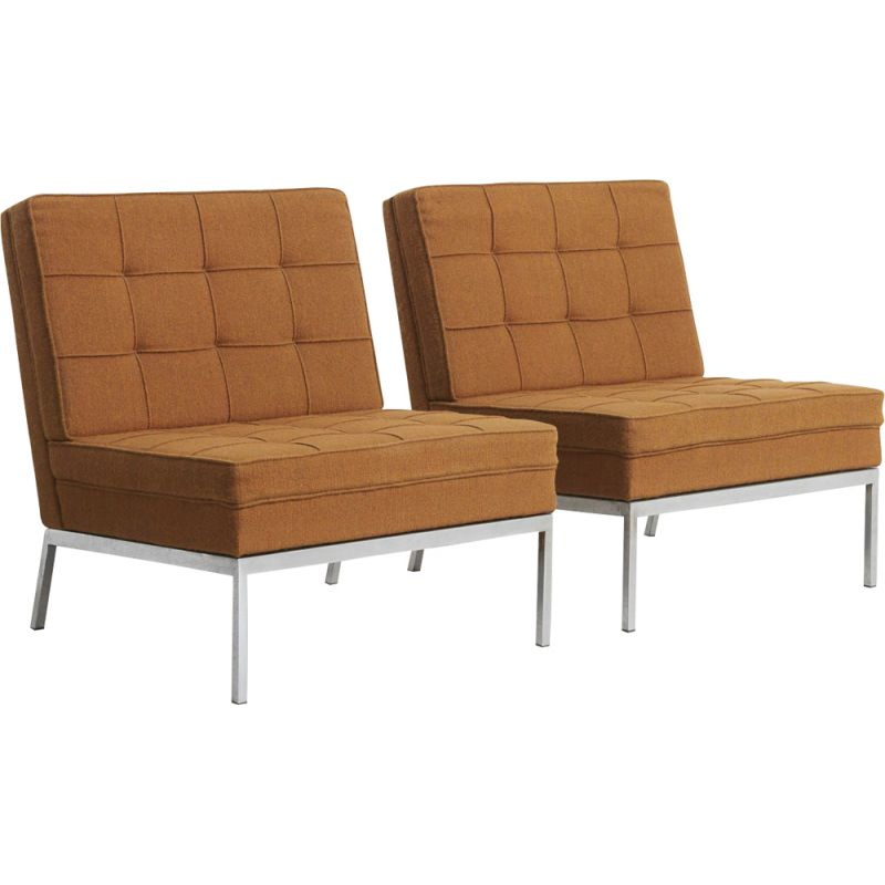 Pair of Easy Chairs by Florence Knoll, United States - 1960s