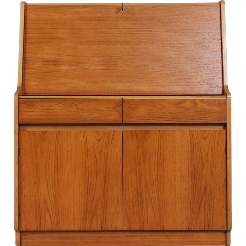 Mid-Century Teak Secretaire from Remploy, English 1960s