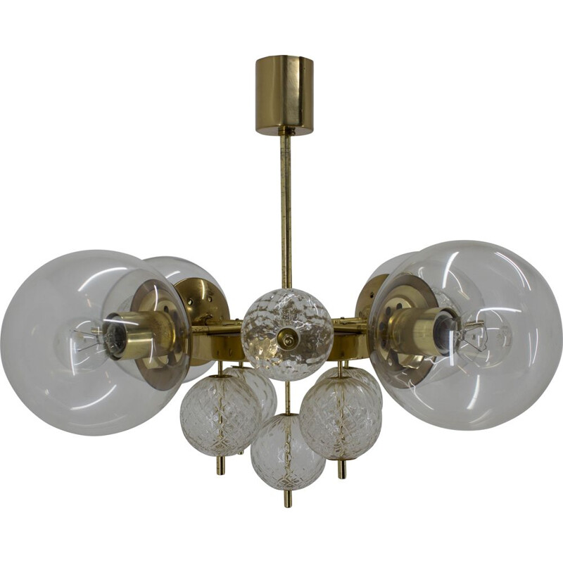 Large Chandelier by Kamenicky Senov, 1960s