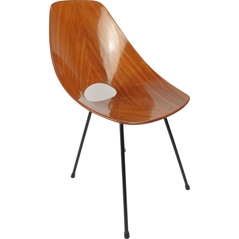 Vintage Medea Bentwood Chair by Vittorio Nobili for Fratelli Tagliablue, 1950s