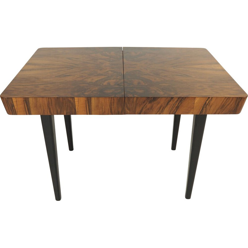 Vintage Dining Table by Jindřich Halabala, 1950s