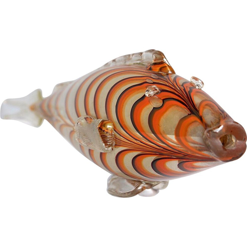 Vintage fish in Murano glass
