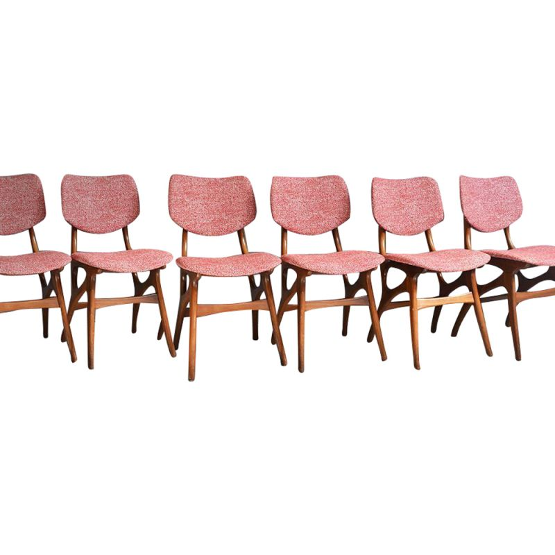 Set of 6 Vintage Dining Chairs from Pynock, 1960s