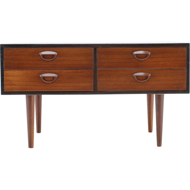 Vintage Chest of Drawers Palisander Johannes Andersen , Denmark 1960s
