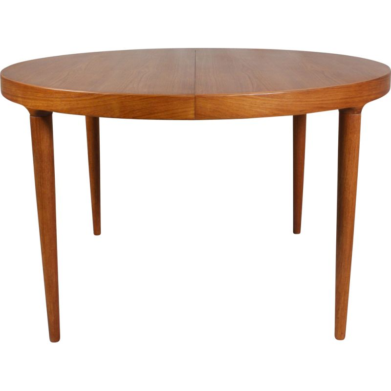 Vintage Round Dining Table, Danish 1960s
