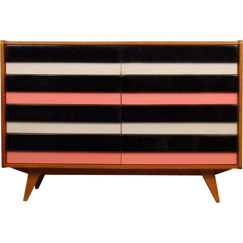 Vintage chest of drawers from Eastern Europe, U-453, Jiri Jiroutek, 1960
