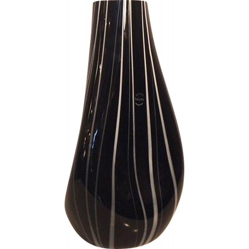 Vintage Glass Collection Vase by Nason, 1980s