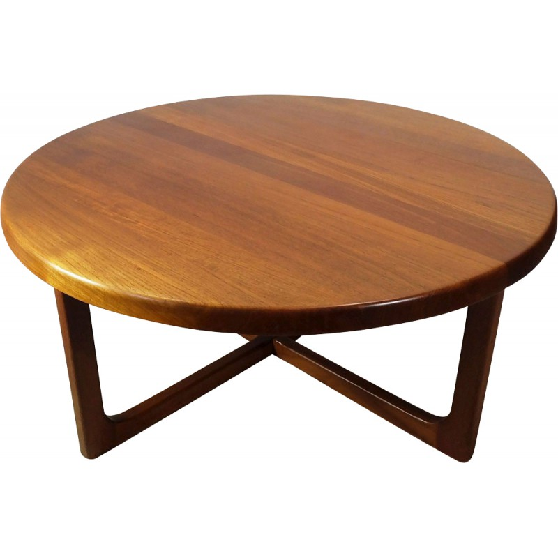 Scandinavian Teak Coffee Table: Scandinavian Teak Coffee Table, Niels BACH