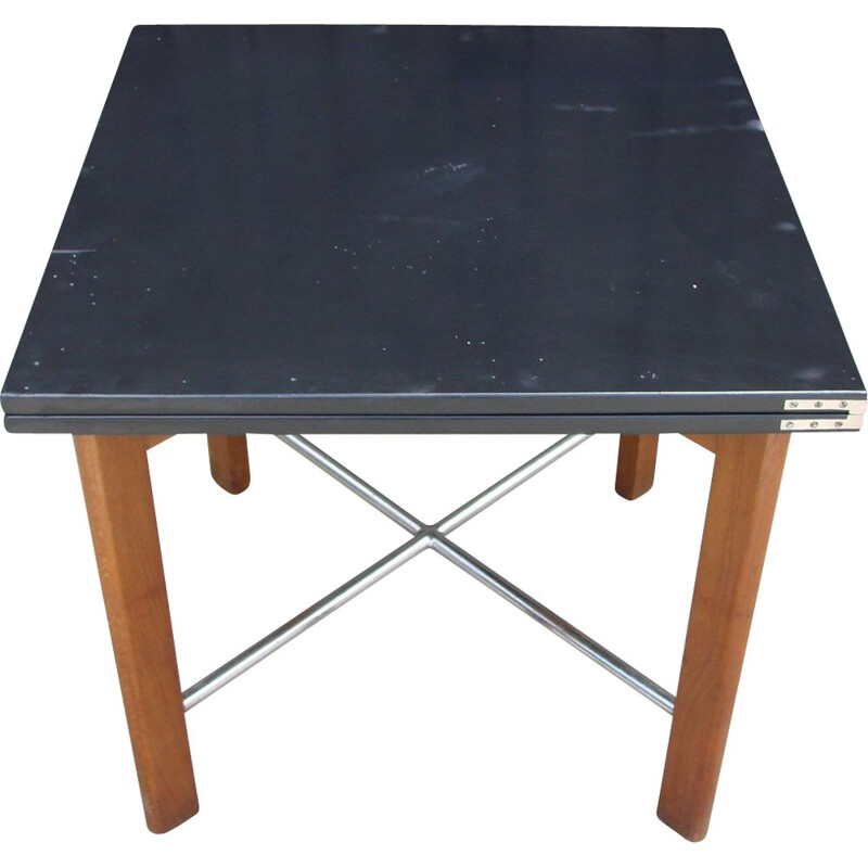 Vintage folding table, M.Stam 1930